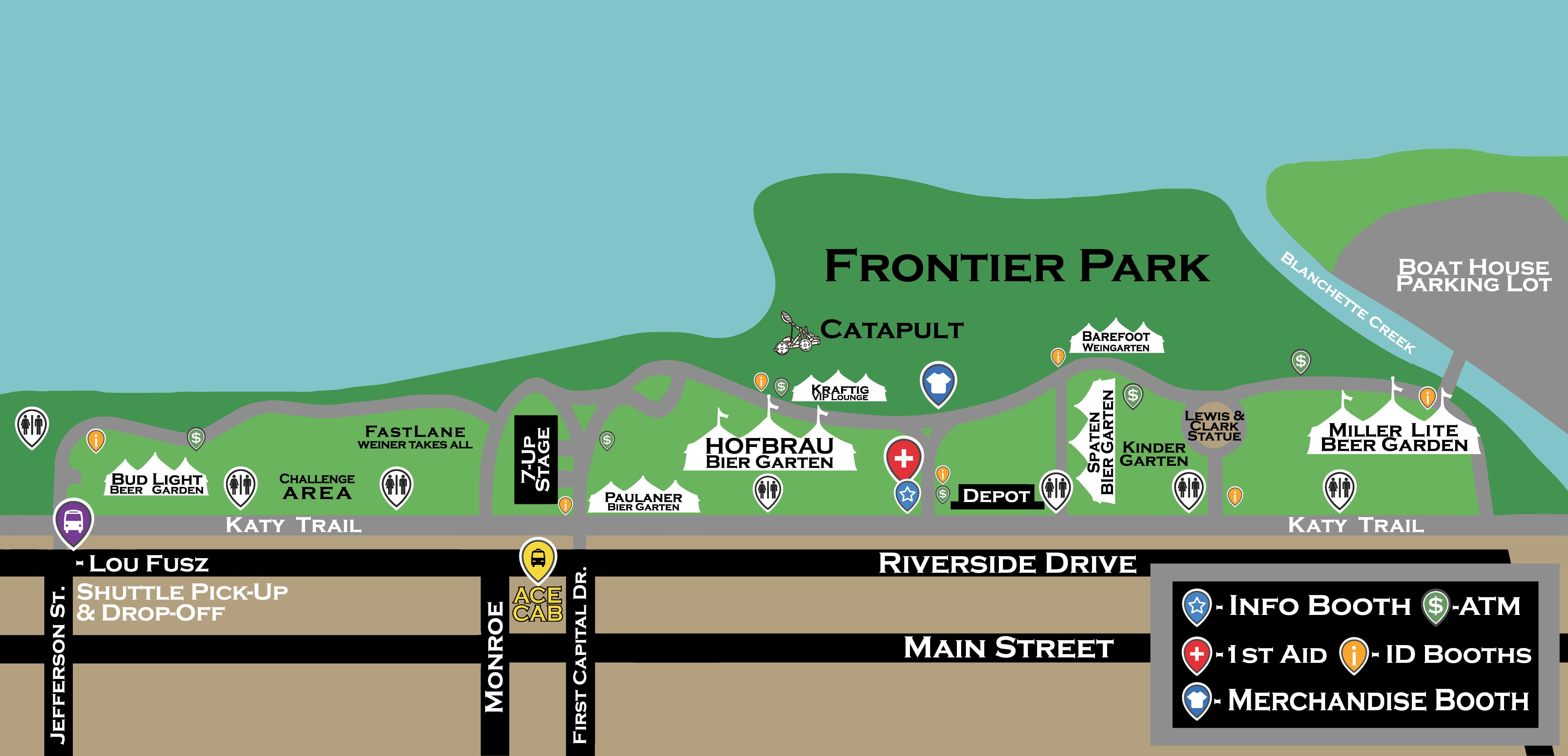 Oktoberfest Map