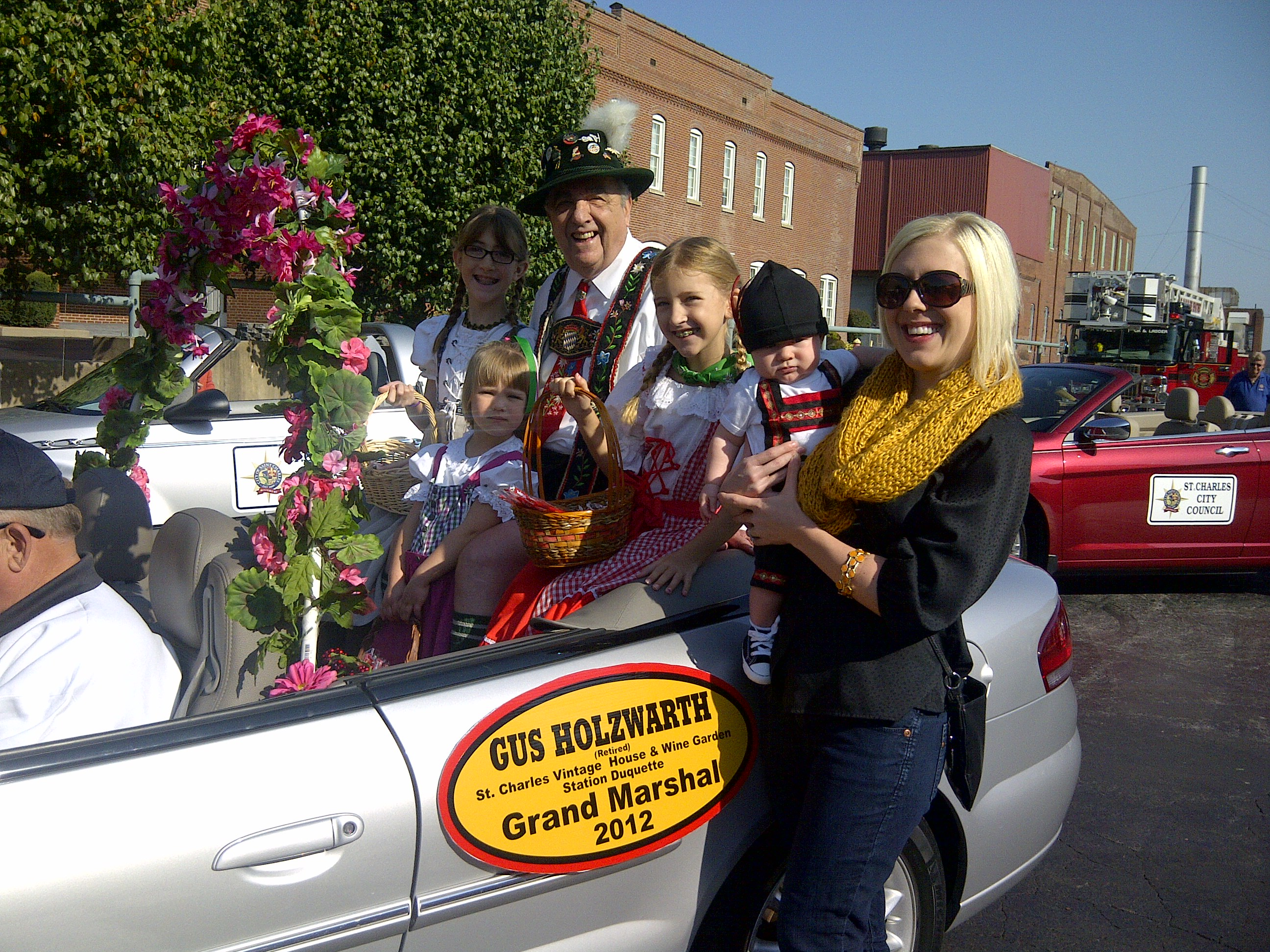 2012 OKT Parade Grand Marshall
